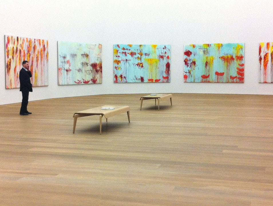 Twombly surround-sound Munich  Germany