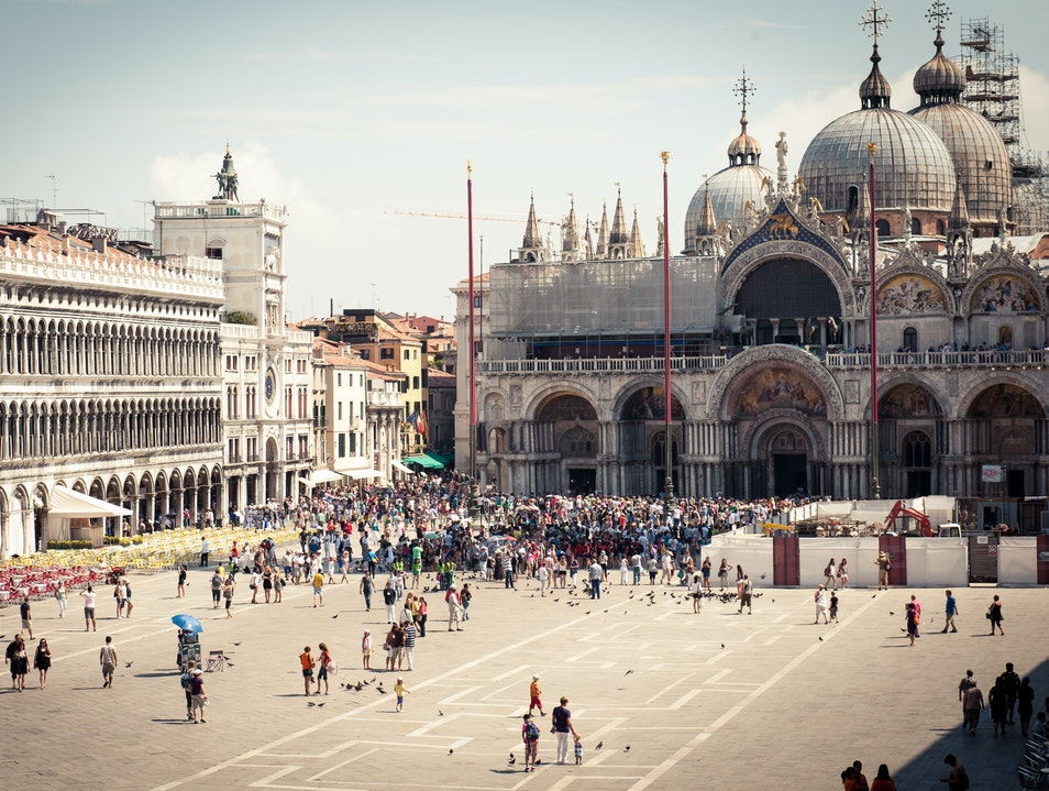 Best View of Piazza San Marco Venice  Italy