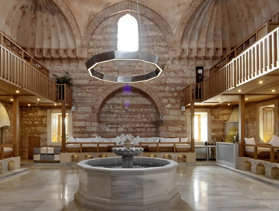 Stylishly Soak Away the Day at a Hammam Istanbul  Turkey