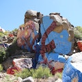 Roy Purcell's Rock Art Chloride Arizona United States