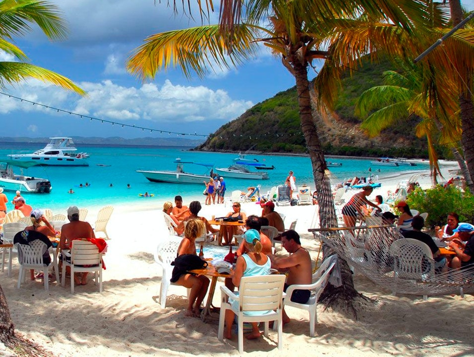Soggy Dollar Bar Jost Van Dyke  British Virgin Islands