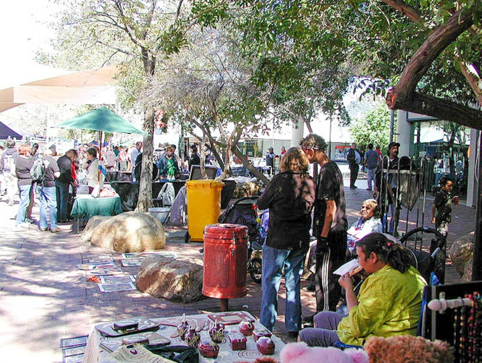 Market Day in Alice Springs Alice Springs  Australia