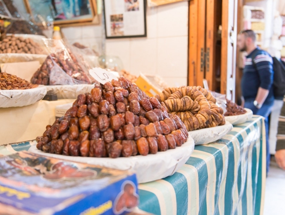 Piles of Food | Walking through the Old Medina in Fez