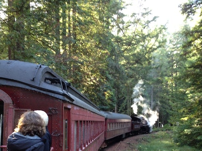 The Skunk Train Fort Bragg California United States