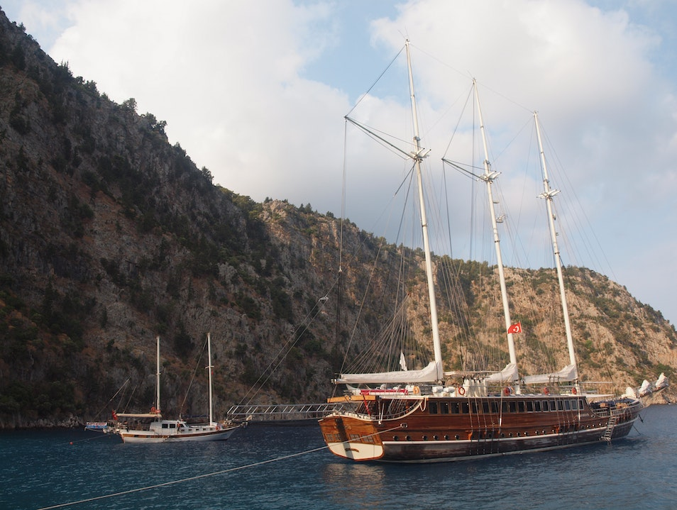 Cruise, Blue Cruise 007 style from Fethiye Fethiye  Turkey