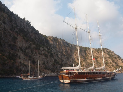 Blue Cruise on the Mediterranean Fethiye  Turkey