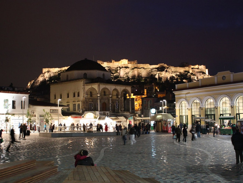 Monastiraki Square Athens  Greece