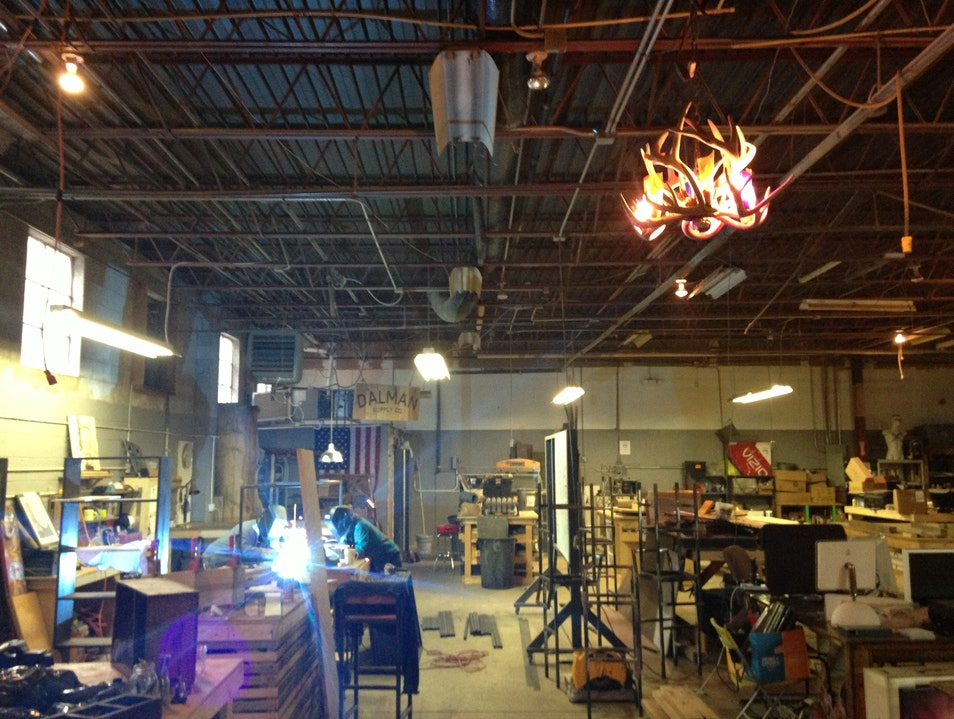 A Hip Art Crawl in Wedgewood–Fort Houston Nashville Tennessee United States