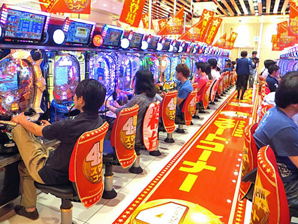 Pachinko Parlors: Too Awful to Miss Tokyo  Japan