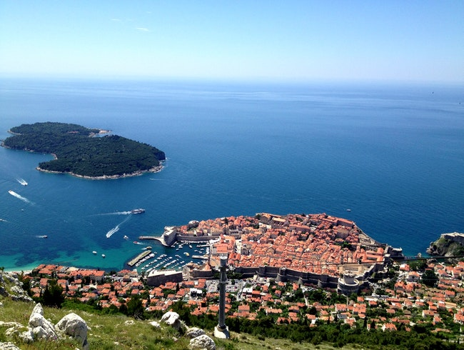 Take a cable car ride for stunning panoramic views of Dubrovnik & beyond