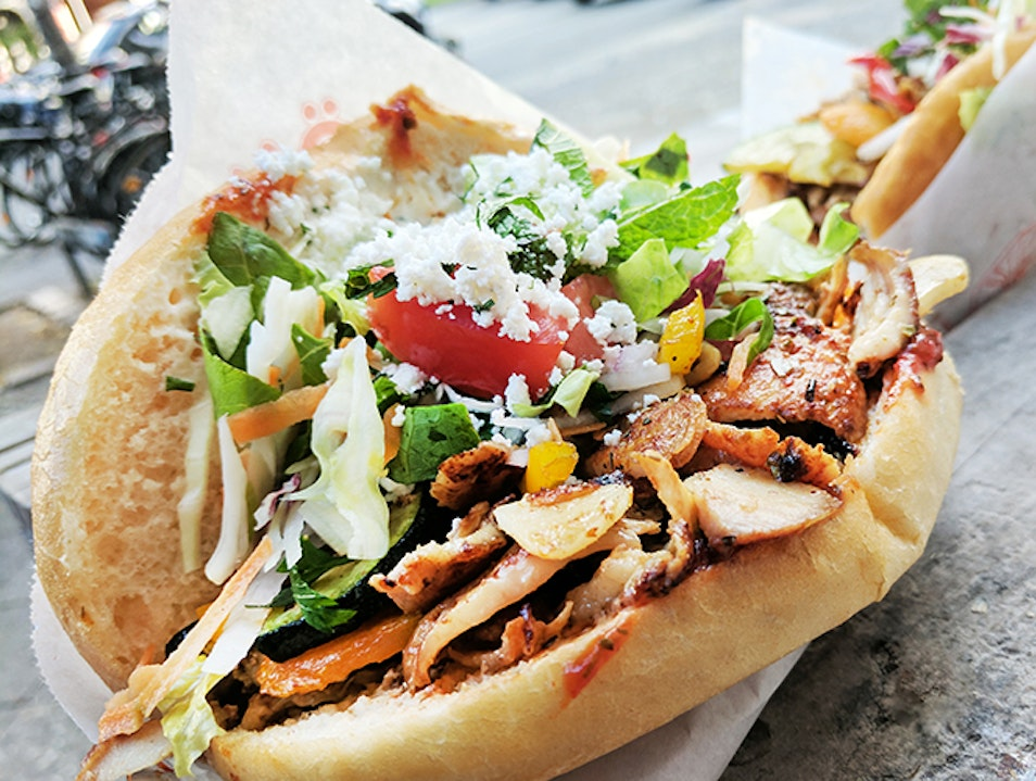 Berlin's Signature Food Dish: Döner at Mustafa's Berlin  Germany
