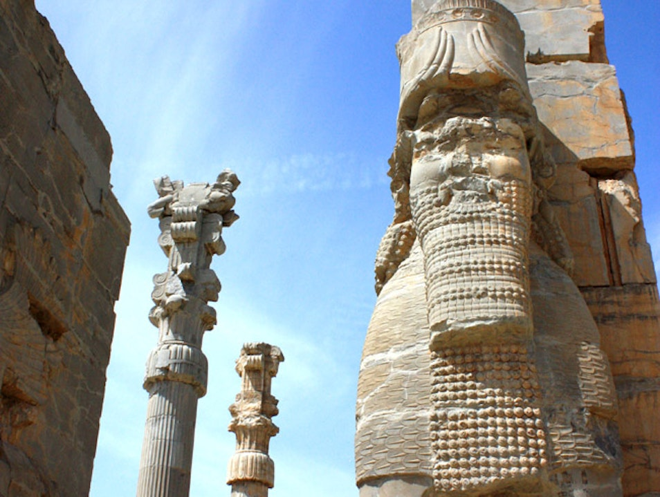 The Ancient Persian Empire Comes to Life at Persepolis in Iran Fars  Iran
