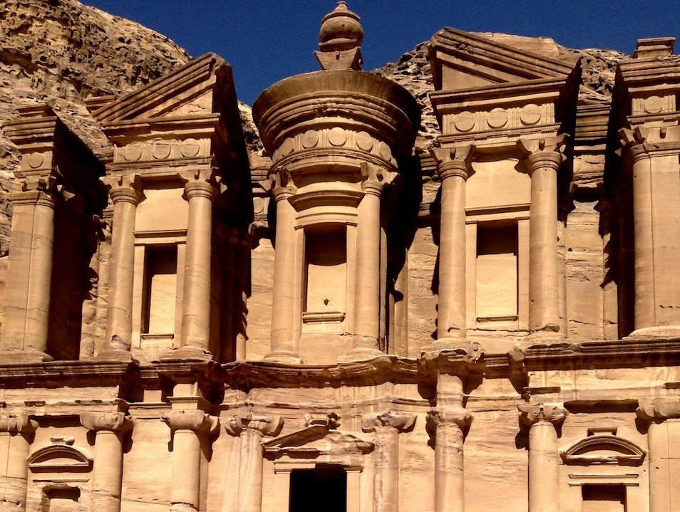 Explore Ancient Ruins Petra District  Jordan