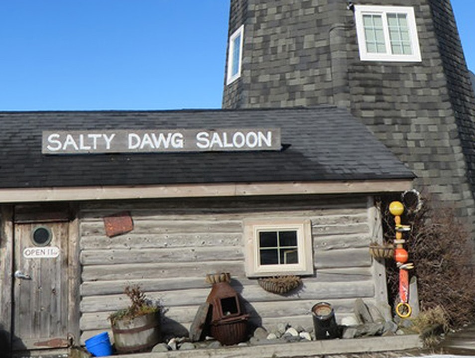 Salty Dawg Saloon Homer Alaska United States