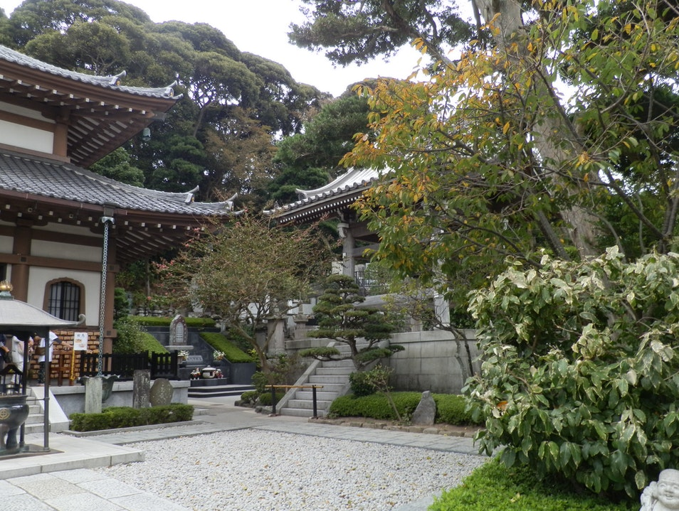 Exploring Hasedera Temple Kamakura  Japan