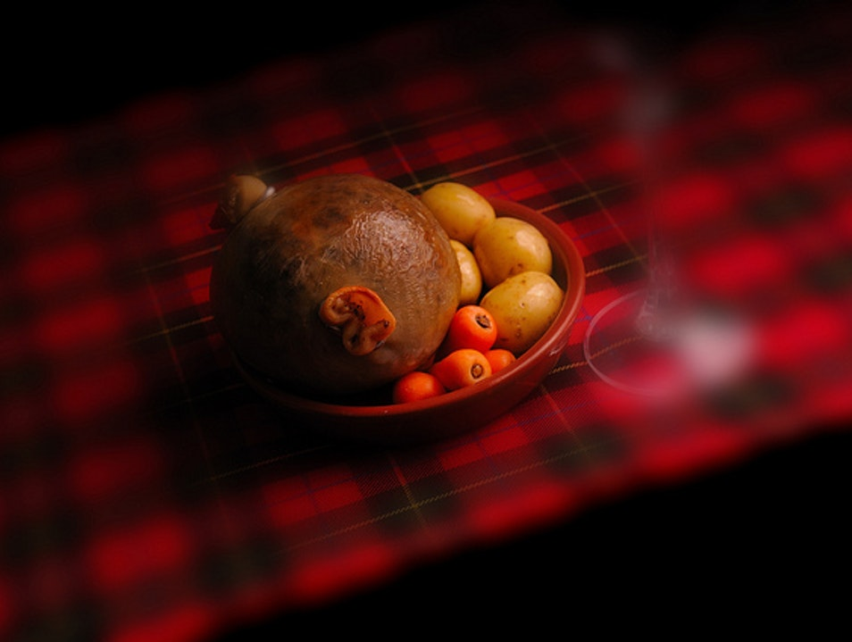 A Toast to the Haggis Glasgow  United Kingdom