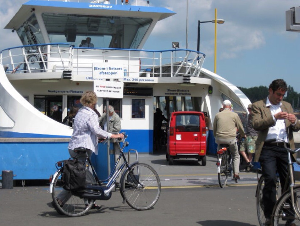 Commuter Ferry Amsterdam  The Netherlands