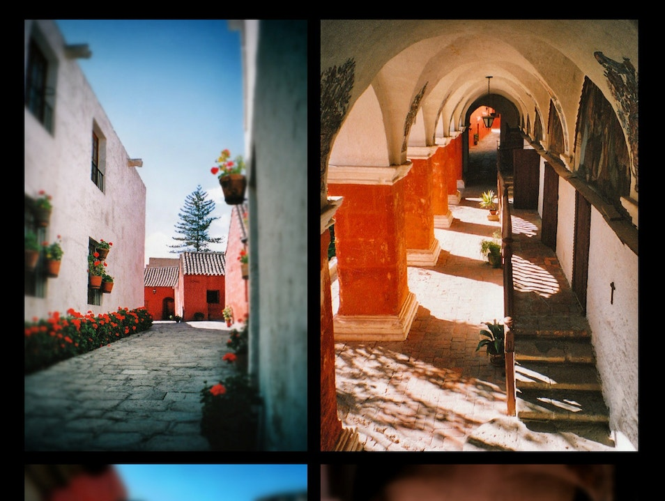cloisters and corridors under the Andean sun: Santa Catalina Monastery, Arequipa, Perú Arequipa  Peru