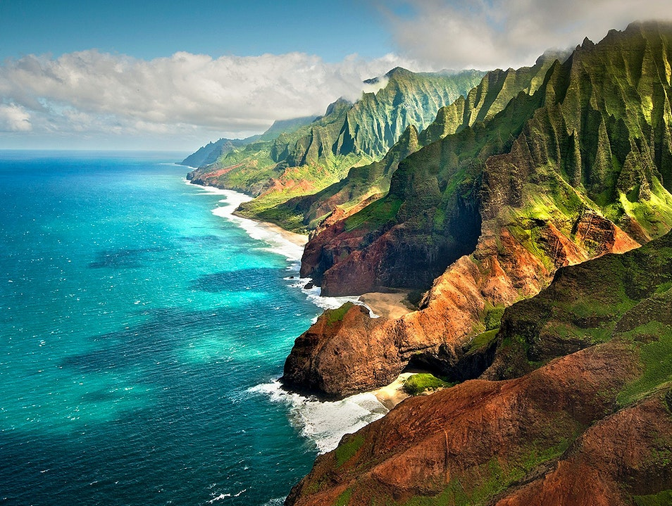 Na Pali Coast State Wilderness Park Kapaa Hawaii United States