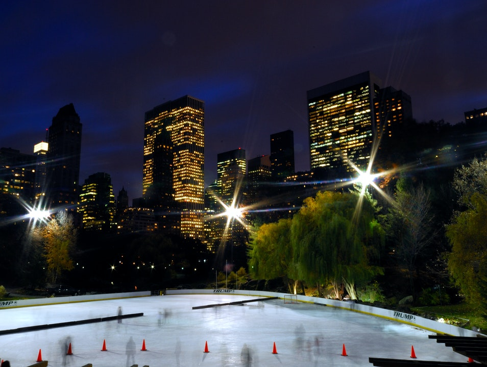 Wollman Rink New York New York United States