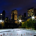 Wollman Rink in Central Park New York New York United States