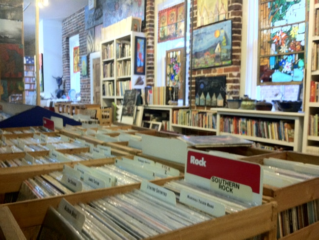 Chattanooga's Home for Used Books and Records