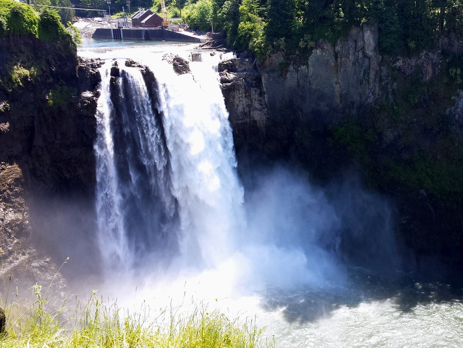 Take in the View-Snoqualmie Falls Fall City Washington United States