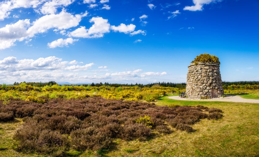 See the Culloden Battlefield, where the fictional Jamie Fraser fought and 1,500 real men died during a crucial conflict of the Jacobite Rising.