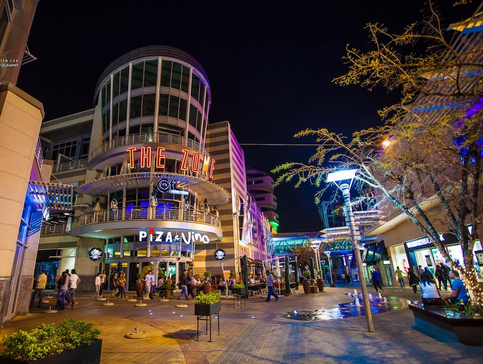 Shop, Play, Eat, Drink and Party at the Zone