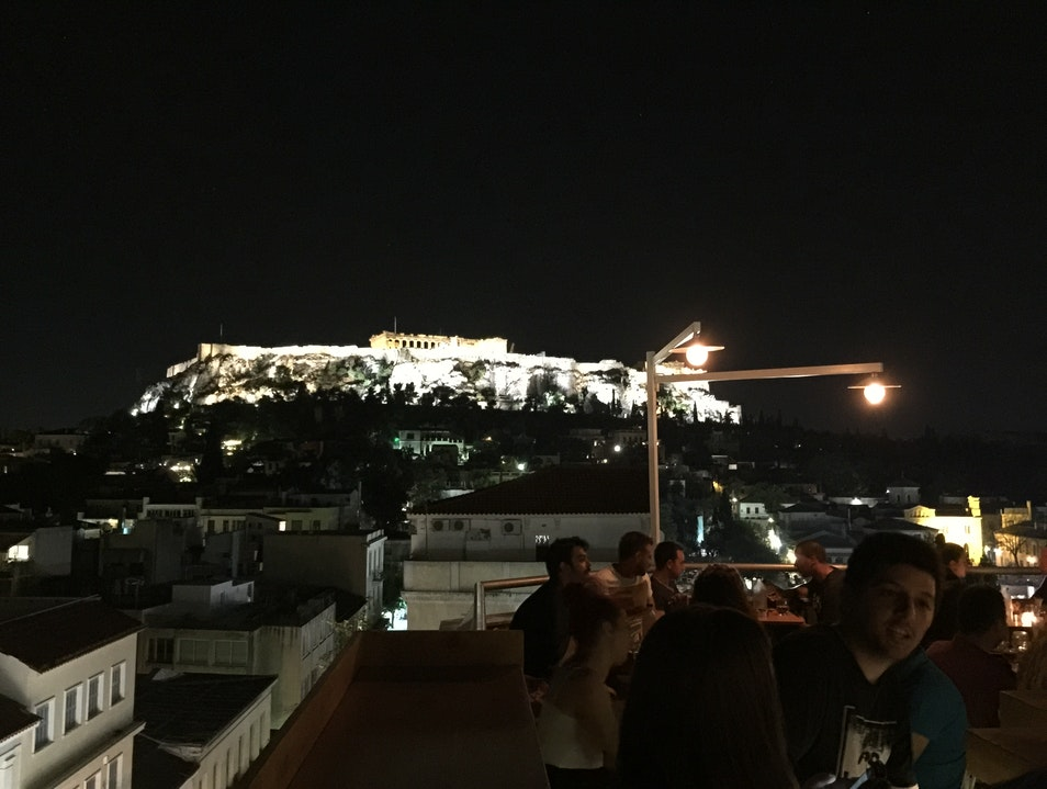 Rooftop Bars of Athens Athens  Greece