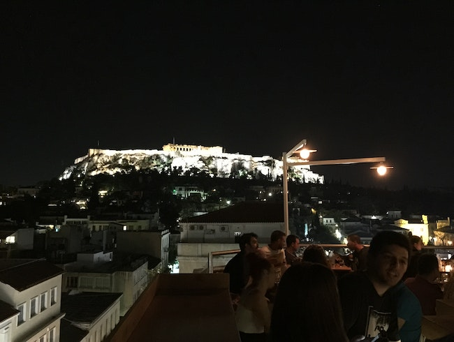 Rooftop Bars of Athens