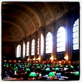 Boston Public Library Boston Massachusetts United States