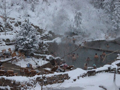Strawberry Park Hot Springs Steamboat Springs Colorado United States