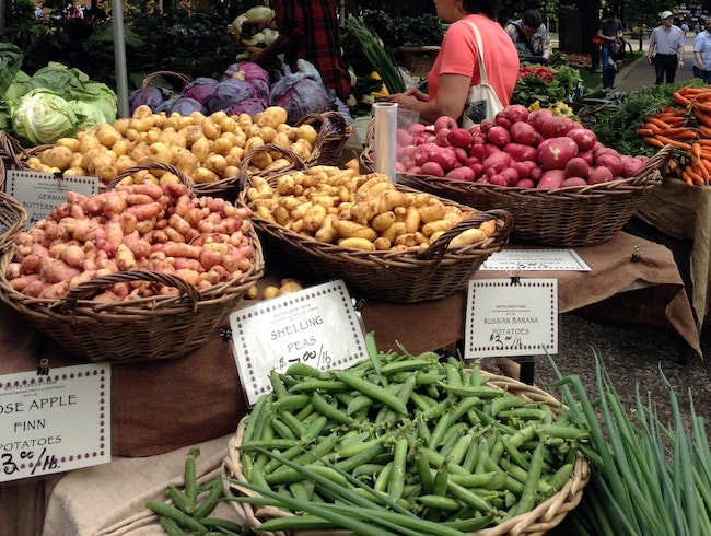 Farmers' Market at Portland State University