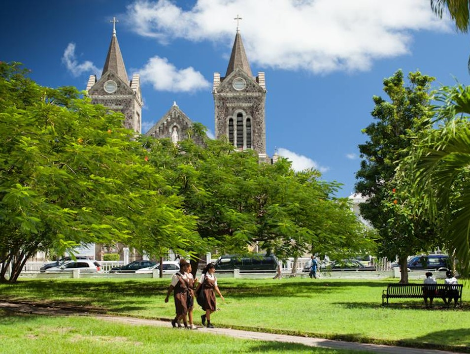 Independence Square Basseterre  Saint Kitts and Nevis