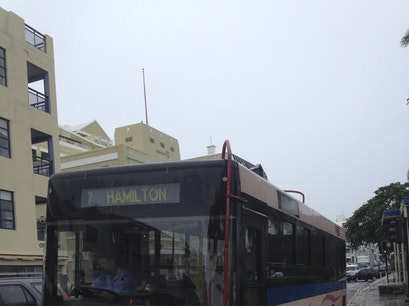Main Bus Terminal - Hamilton North Shore Village  Bermuda