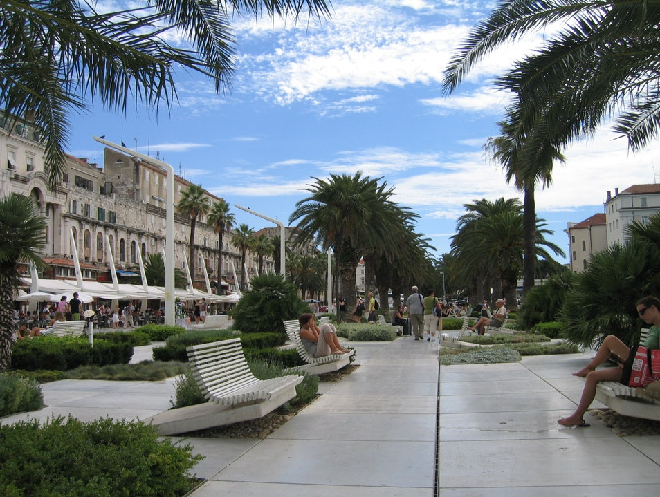 The Promenade Split  Croatia