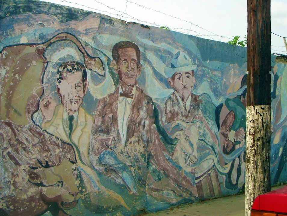 Abandoned Mural in Downtown Ponce Ponce  Puerto Rico