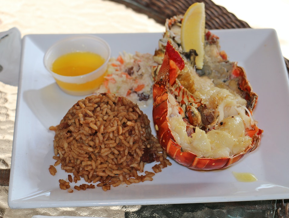 Sample Anegada Spiny Lobster
