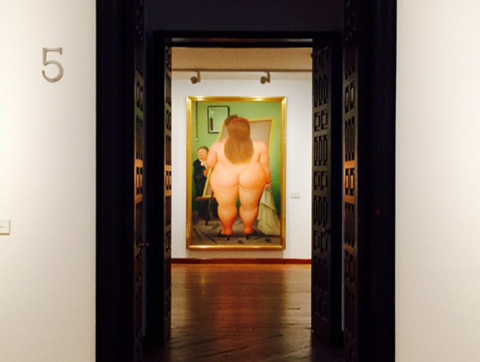 Botero's Big Butts Bogota  Colombia