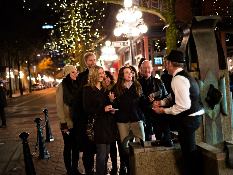 Venture Into Gastown on a Gothic Theatrical Adventure Vancouver  Canada