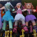 Downtown L.A.'s Piñata District Los Angeles California United States