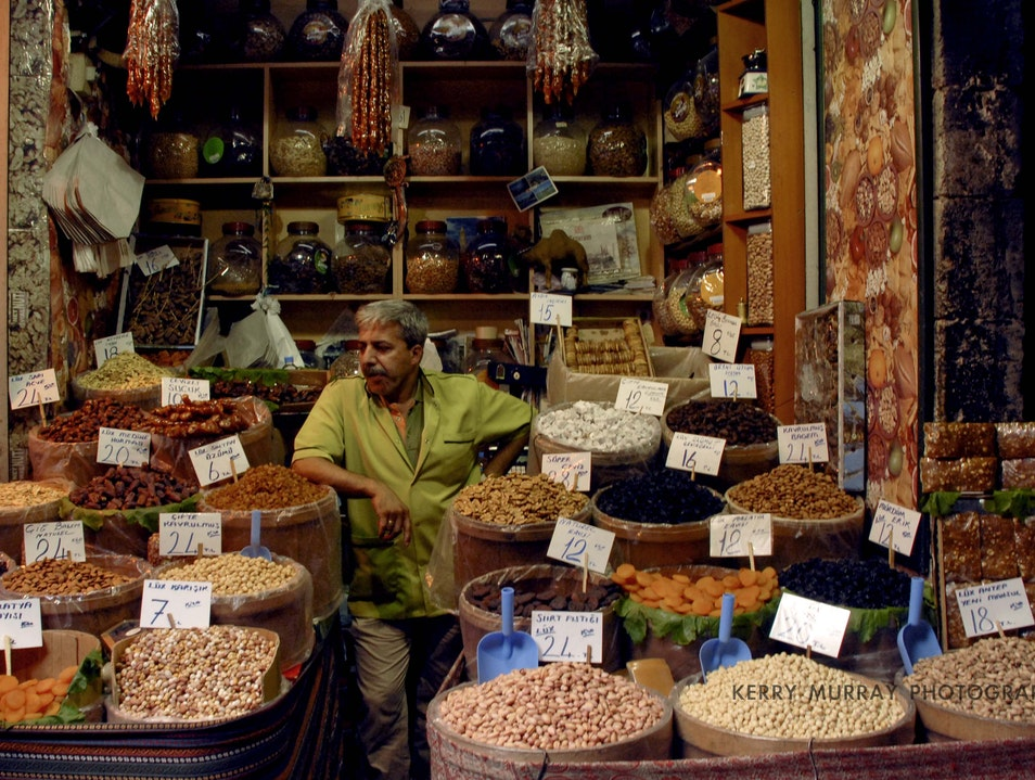 Spice Shopping in Istanbul Istanbul  Turkey