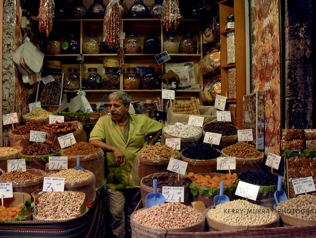 Spice Shopping in Istanbul