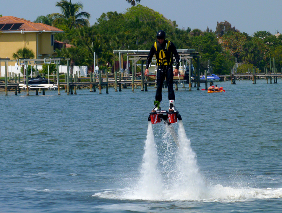 Add Flyboarding to Your Water Repertoire