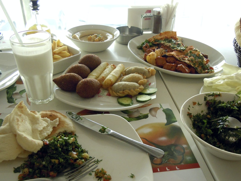 Middle Eastern food is Delicious Nejmeh  Lebanon