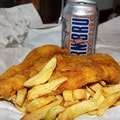 The Blue Lagoon Fish & Chips Glasgow  United Kingdom
