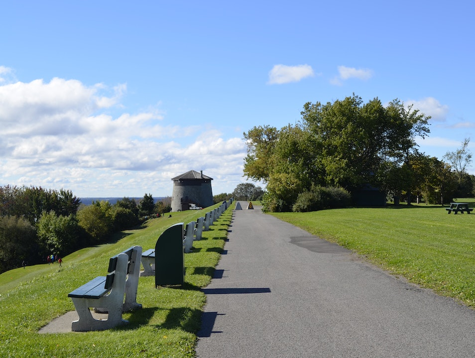 Hike up the Stairs for a Gorgeous River View Quebec City  Canada