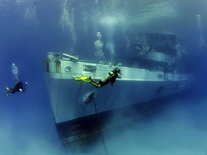 Kittiwake Shipwreck and Artificial Reef   Cayman Islands