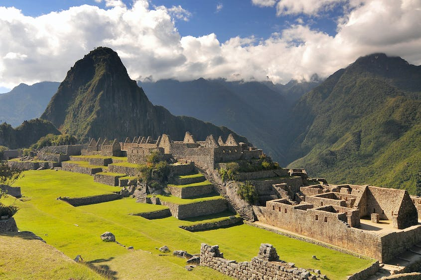 The remnant fortifications of Machu Picchu were found in 1911.